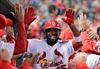 Fowler, Gyorko power Cardinals past Reds 7-5-Image1