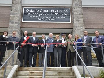 NEW DISTRICT COURTHOUSE OPENS