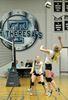 St. Theresa's High School Thunder beaten in senior girls volleyball