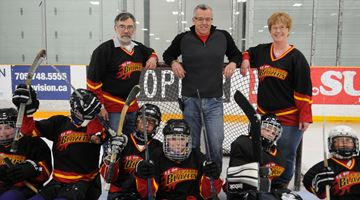 Kawartha Blazers new jersey