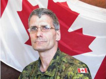 Warrant Officer Patrice Vincent joined Canadian military in 1986
