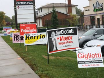 Advance polls bring Niagara Falls voters out