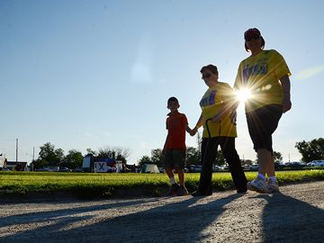 Vaughan's first Relay for Life event took place at Woodbridge Fairgrounds Friday night.