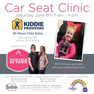 Kiddie Proofers Car Seat Clinic