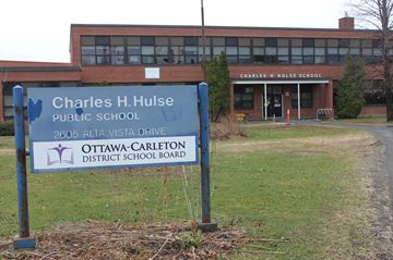 Students, staff return to Charles Hulse school