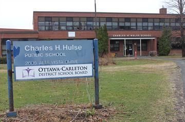 Students, staff return to Charles Hulse school
