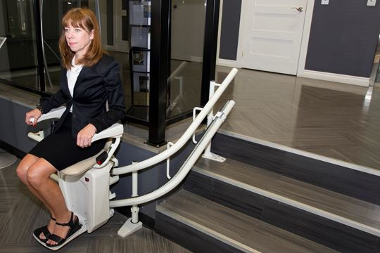 Brampton business takes brisk strides in helping people for 2 story wheelchair lift