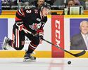 Ben Jones of the Niagara IceDogs.