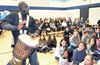 Black History Drumming in Stouffville