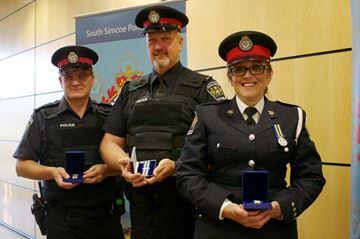Officers honoured