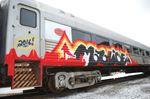 Train vandalism