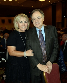 Apotex founder Bernard Sherman and his wife, Honey.
