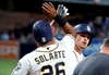 Rookie Renfroe hits slam, 3-run HR; Padres beat Dodgers 7-1-Image1