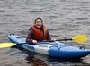 Grade 10 student Emily Duguid kayaks with her school mates.
