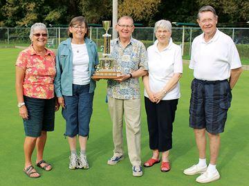Stewarts win Midland lawn bowling event