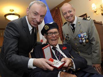 Burlington WWII vet awarded Legion of Honour medal by France