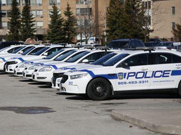 Peel police cars