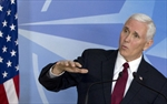 Mike Pence in Brussels