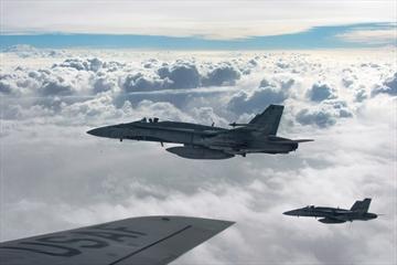 CF-18s attack as Kurds fight to retake Sinjar-Image1