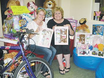 Campground holds toy drive