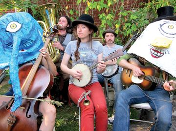 The Ever-Lovin' Jug Band fuses ragtime and blues, hits Mariposa in Orillia