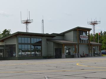 TERMINAL BUILDING AT MUSKOKA AIRPORT
