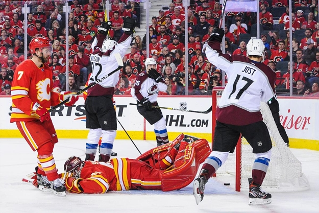 colorado avalanche eliminate calgary flames from stanley. Black Bedroom Furniture Sets. Home Design Ideas