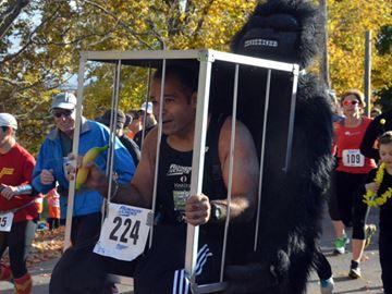 Halloween Haunting running scared