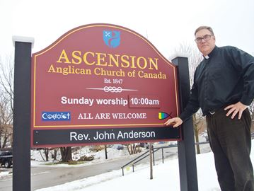 Port Perry church vandalized