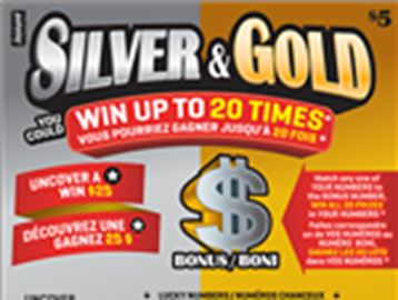 SILVER AND GOLD WINNER