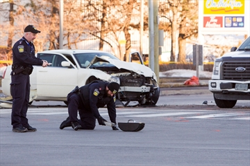 Kennedy and Steeles Collision