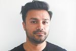 Artist Mahmood Popal