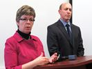 Police announce charges in Lise Fredette's death - Nov. 22, 2014