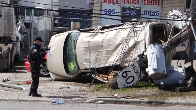SIU investigating single-vehicle crash in Brampton