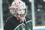 Cobourg Cougars goalie Stefano Durante