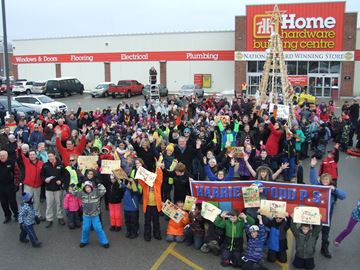 Orillia's Home Hardware stamps out hunger