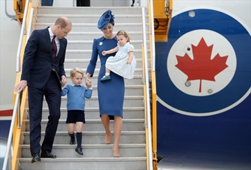 Royals focus on social causes in West Coast visit-Image1
