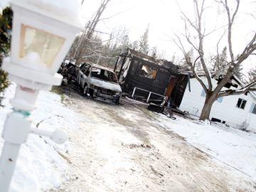 Roseneath house fire