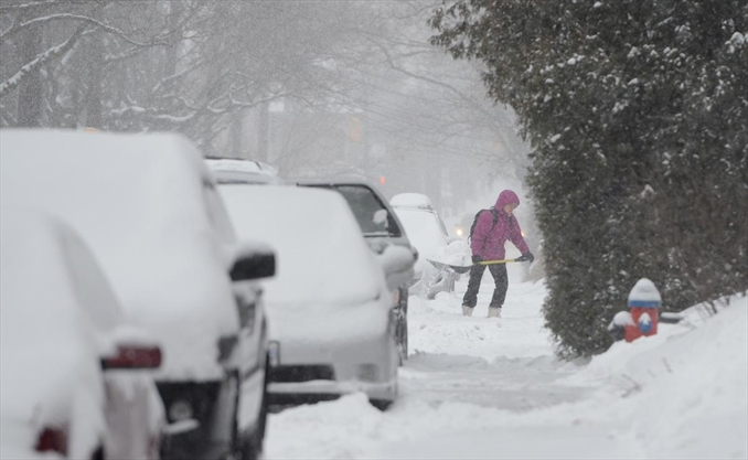 Hamilton to get hammered with snow