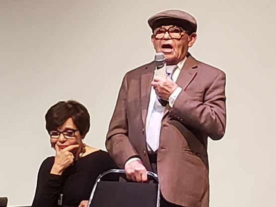 Holocaust survivor, 98, to Oshawa crowd: 'History repeats itself if you don't act'