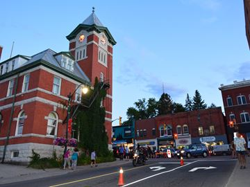 ICONIC BRACEBRIDGE CLOCK TOWER