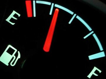 Don't ignore your car's insistence on refueling, because you can damage your car by running it on empty.