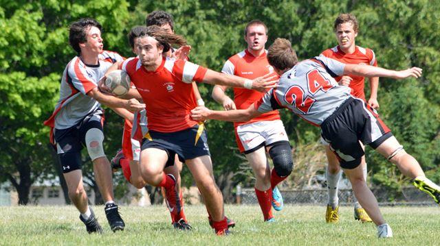 Pearson wins Halton A/AA boys' rugby final