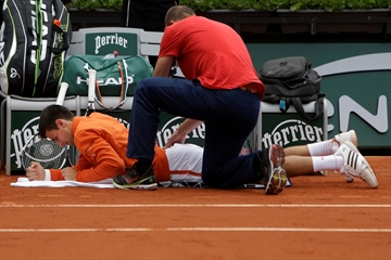 The Latest: Shots for Tomic after French Open loss-Image1