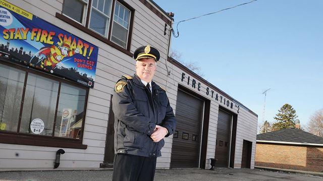 Clarington Fire Chief Gord Weir