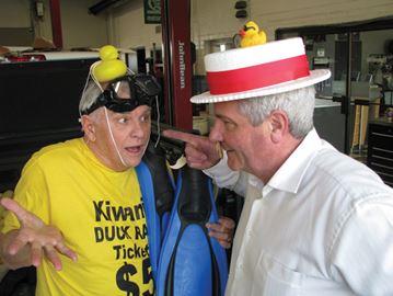 Pier closures can't stop duck race