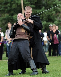 Medieval Faire fight