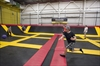 VIDEO: Trampoline dodgeball
