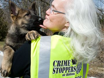 Oakville woman walks the talk for Crime Stoppers