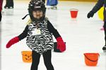 Skating away on a Halloween day